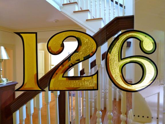 Gold Leaf Amp Address Numbers Bestdressedsigns Com