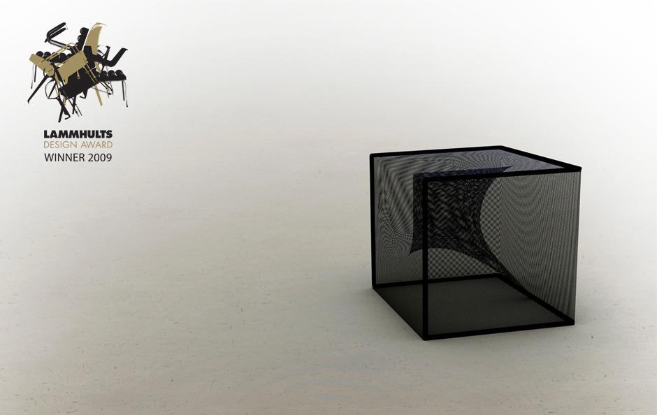 Black Hole chair Mathieu Gustafsson Design
