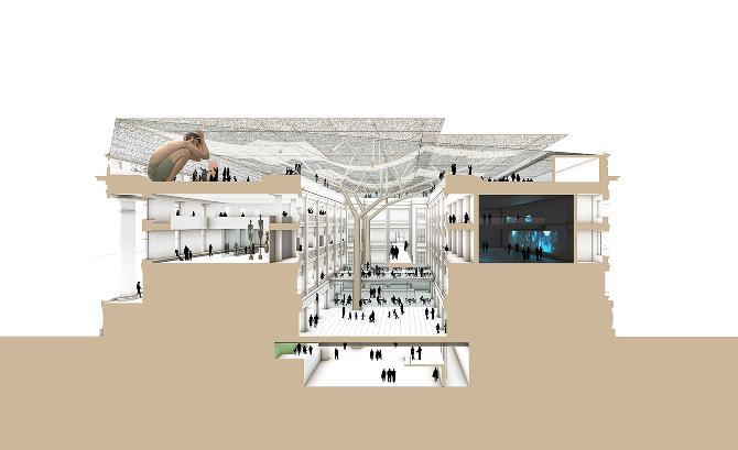Singapore National Art Gallery Baldacci Architect E